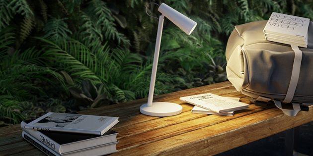 Xiaomi представила аккумуляторную настольную лампу