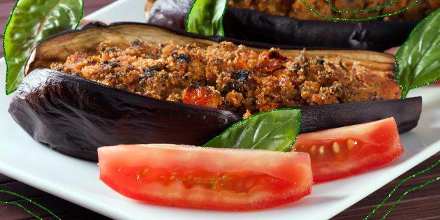 10 рецептов вкусных фаршированных баклажанов