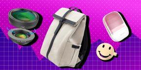 Находки AliExpress для женщин: массажная щётка, зеркальце-пауэрбанк и комплект объективов