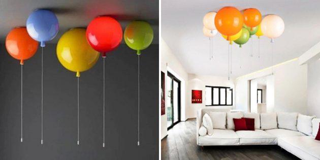 Светильники в виде шаров
