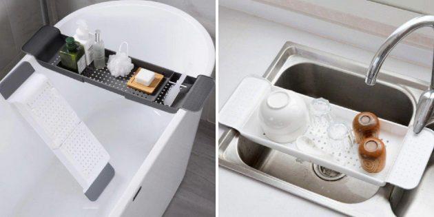 Поднос для ванной