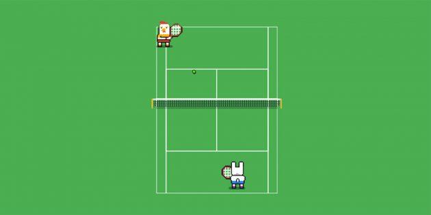 В Google появилась игра-пасхалка про теннис. Как её найти