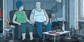Симпсоны в России: альтернативная версия знаменитой заставки