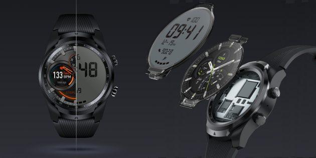 Mobvoi представила часы TicWatch Pro с NFC и LTE