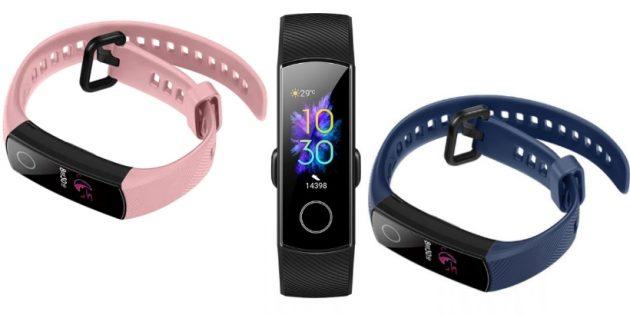 Huawei представила браслет Honor Band 5 с NFC