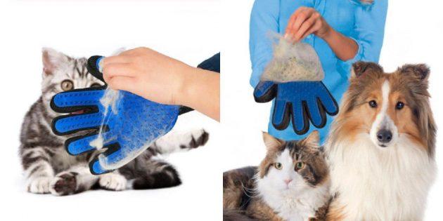 Щётка-перчатка
