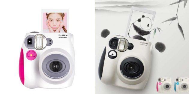 Камера с мгновенной печатью фото