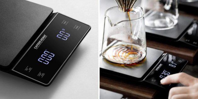 Цифровые кофейные весы