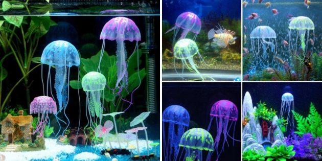 Светодиодная медуза