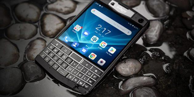Прочный смартфон Unihertz Titan