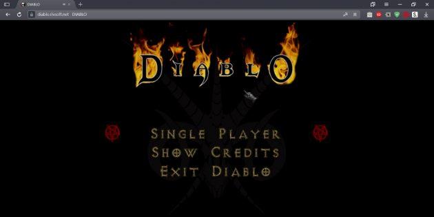 В первую Diablo теперь можно поиграть в браузере