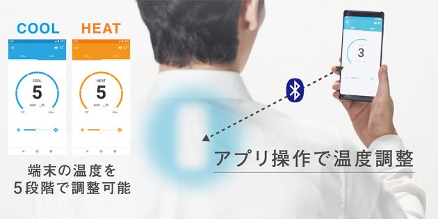 Управление портативным кондиционером от Sony со смартфона