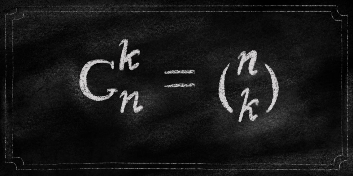 Как поясняет «Столото», выигрыши можно предусмотреть: будем записывать элемент формулы как C(n,k)