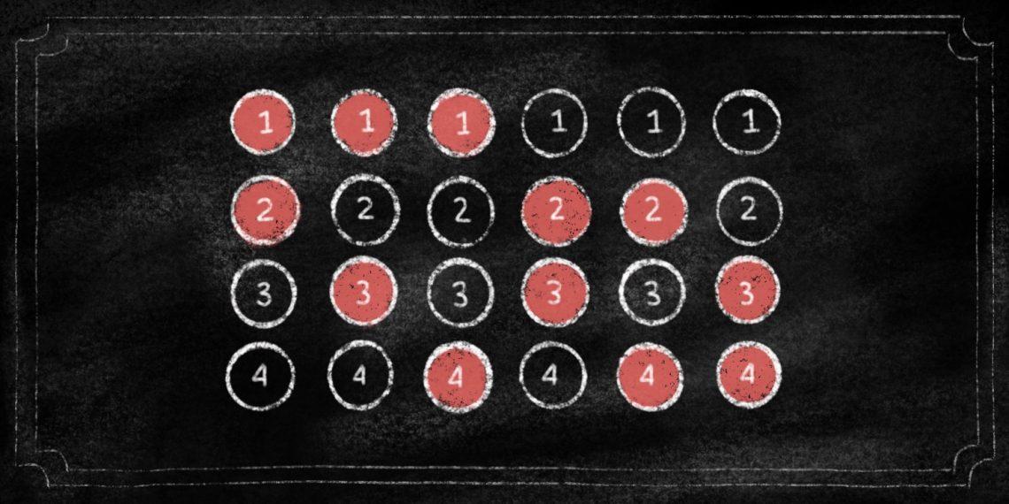 Как поясняет «Столото», выигрыши можно предусмотреть: каждый столбец — это возможное сочетание