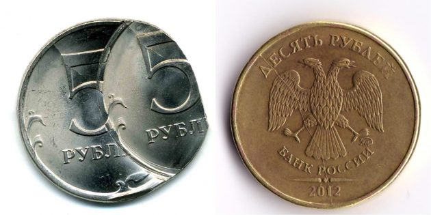 Как продать монеты: наличие брака