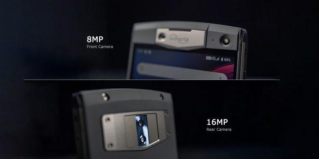 Камеры прочного смартфона Unihertz Titan