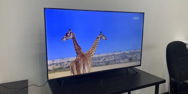 Mi TV 4S: 4K и HDR