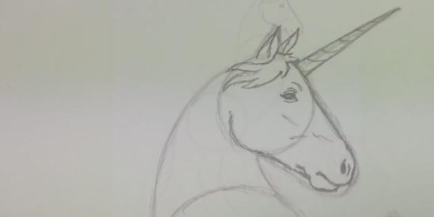 Прорисуйте детали, нажимая на карандаш чуть сильнее