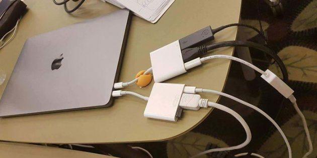 Неудачный дизайн: MacBook без нужных разъёмов