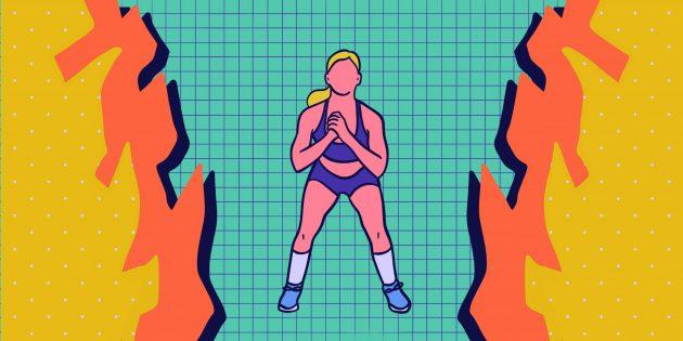 15минут ада: интенсивная тренировка из простых упражнений