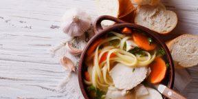10 куриных супов на любой вкус