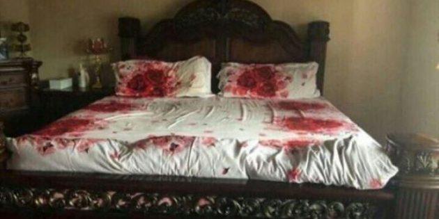 Неудачный дизайн: постельное бельё с розами