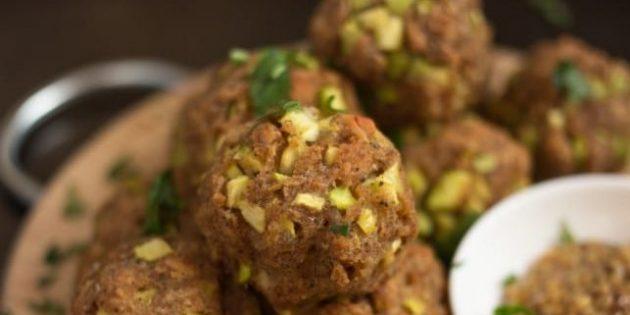 Закуски из кабачков: хрустящие шарики с сыром