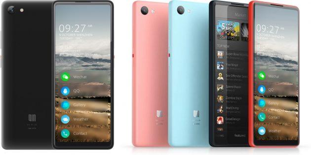 один из самых компактных смартфонов на Android Go