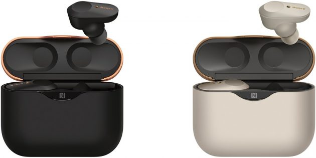 Sony WF-1000XM3 доступны в двух цветах