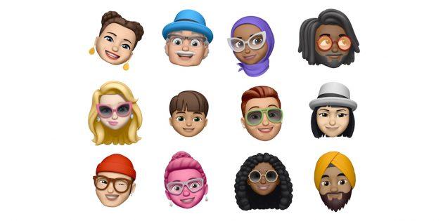 Memoji от Apple