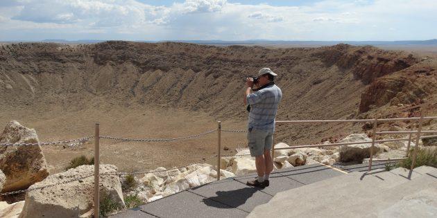Астрономия: Аризонский метеоритный кратер