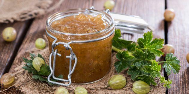 Рецепт варенья из крыжовника с лимонным соком
