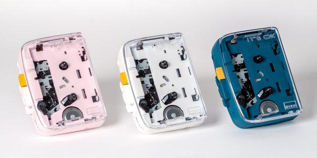 плеер IT'S OK доступен в трёх цветах