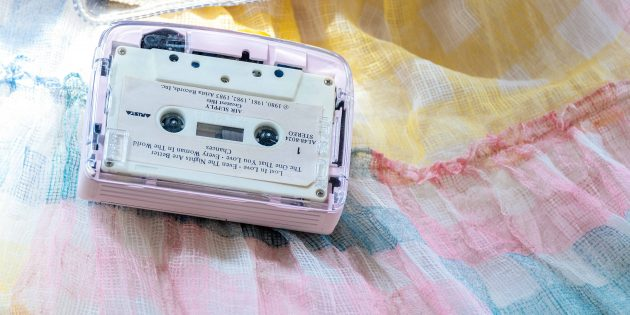 IT'S OK — кассетный плеер с Bluetooth