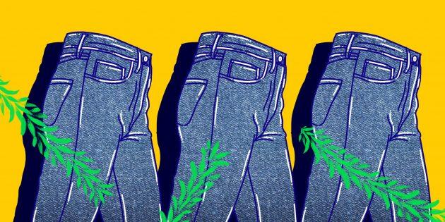 Как отстирать траву с джинсов: 6 лучших способов