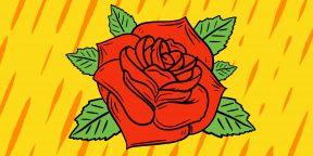 20 способов нарисовать красивую розу