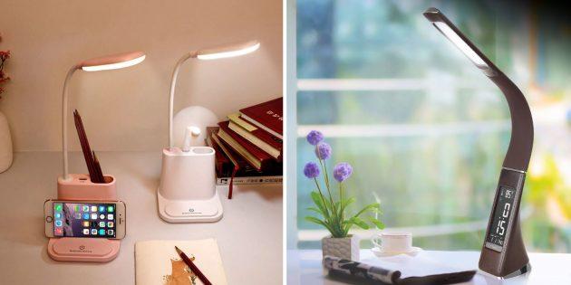 Подготовка к школе: лампа для рабочего стола