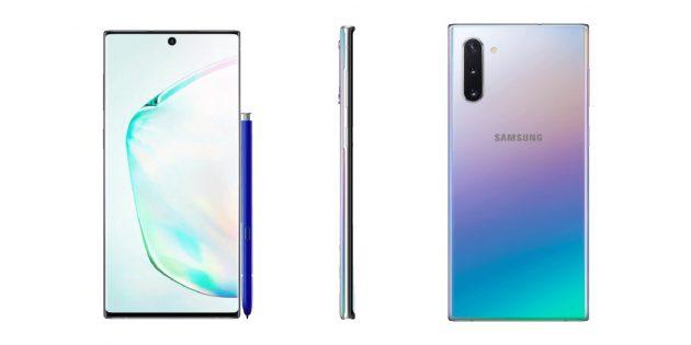 Новые подробности и фотографии Galaxy Note 10