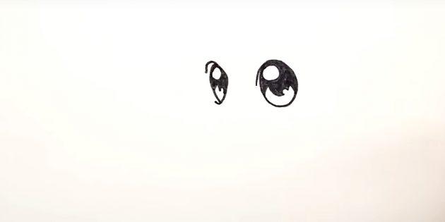 Слева изобразите что-то вроде перевёрнутой буквы С