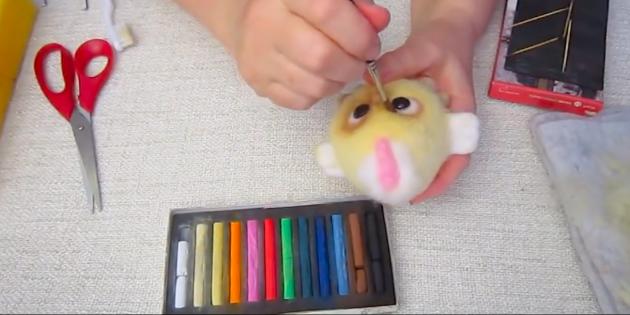 Создание игрушек в технике фелтинга