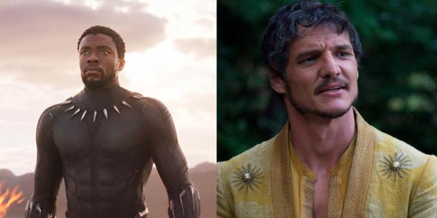 """Сравнение персонажей """"Мстителей"""" и """"Игры Престолов"""". Чёрная Пантера и Оберин Мартелл"""