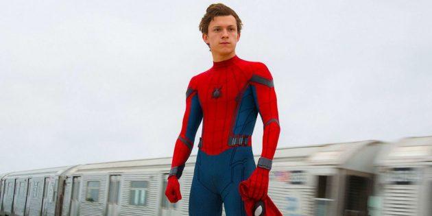 Человек-паук Том Холланд