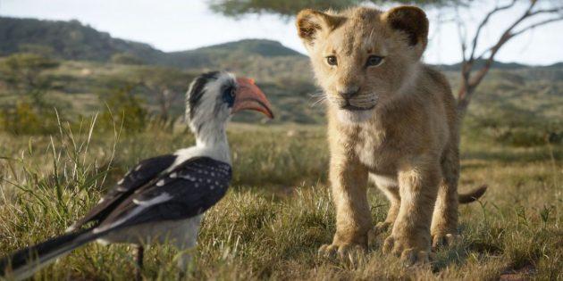 «Король Лев»: маленький Симба и Зазу