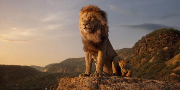 «Король Лев»: Муфаса и маленький Симба
