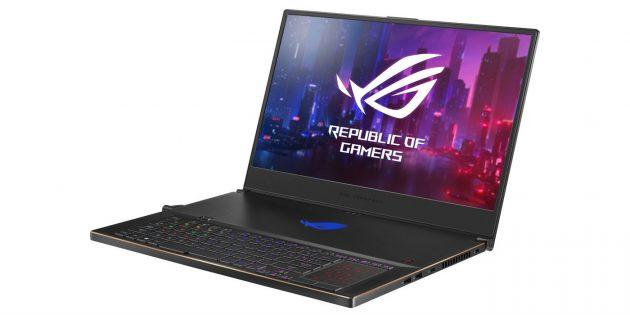 Топовые ноутбуки 2019года: Asus ROG Zephyrus S (GX701GXR)