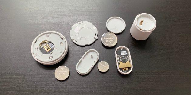 Xiaomi Mi Smart: батарейки