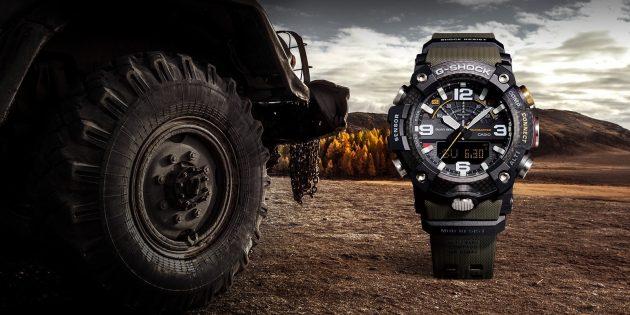 Casio выпустила неубиваемые часы G-Shock с шагомером и Bluetooth