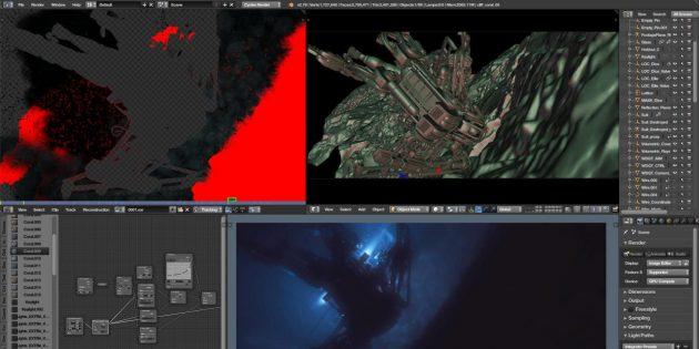 Бесплатные программы: Blender - инструмент для 3D-моделирования