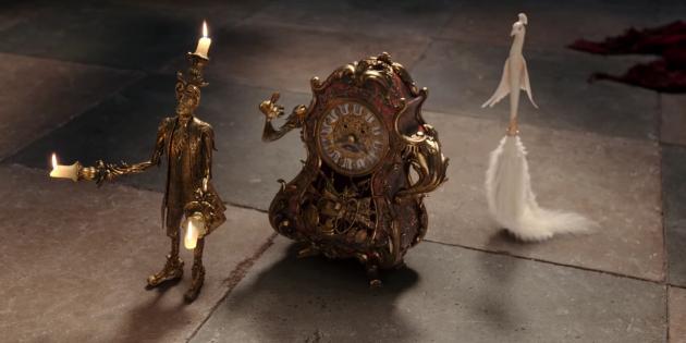 Люмьер и Когсворт из игрового ремейка 2017 года