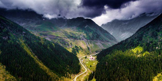 Необычные места для отдыха: Румыния